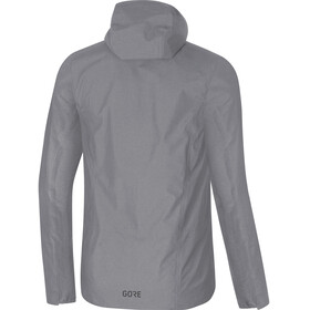 GORE WEAR M's H5 Gore-Tex Active Hooded Jacket Terra Grey